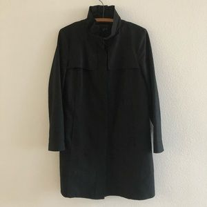 Zara Woman Black Trench Coat